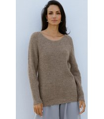 trui amy vermont taupe
