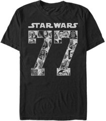 star wars men's classic comical since 77 short sleeve t-shirt