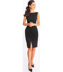sukienka holly - czarna midi