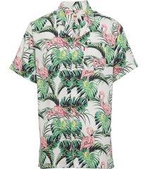 cubano shirt flamingo leaf pri kortärmad skjorta multi/mönstrad levi´s men