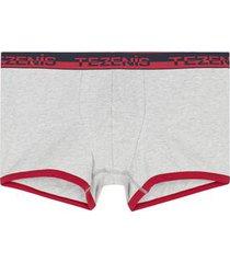 boxer cotone con elastico logato