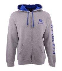 top of the world kentucky wildcats men's foundation full zip hooded sweatshirt
