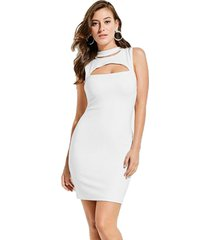 vestido sl arita blanco guess