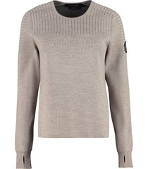canada goose elmvale merino wool blend sweater