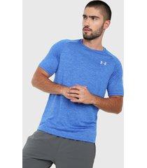 camiseta azul under armour tech 2.0