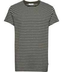 knud t-shirt st 10379 t-shirts short-sleeved multi/mönstrad samsøe samsøe