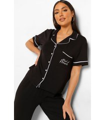 maid of honour pyjama set met knopen