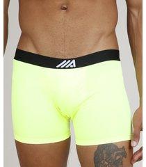 cueca masculina ace boxer verde neon