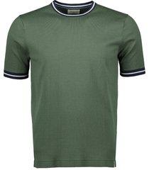 hensen t-shirt - extra lang - groen