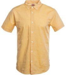 levi's men's chambray short-sleeve oxford shirt