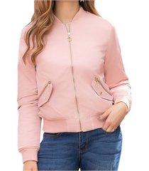 chaqueta regina rosa para mujer croydon