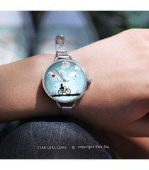 star girl love rower - zegarek + box