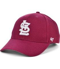 '47 brand st. louis cardinals cardinal mvp cap