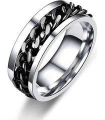 anillo hombres unisex rock acero inoxidable 016