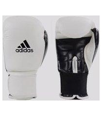 luva de boxe e muay thai adidas power 100 branca