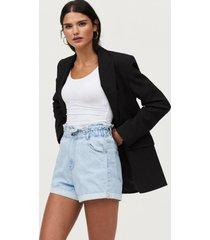 jeansshorts paperbag denim shorts