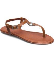 formal shoes leather shoes summer shoes flat sandals brun esprit casual