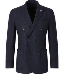 crossed blazer