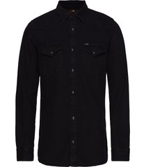 lee western shirt overhemd casual zwart lee jeans