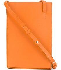 aesther ekme structured shoulder bag - orange