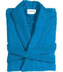 de witte lietaer badjas etrusk ocean blue-xl