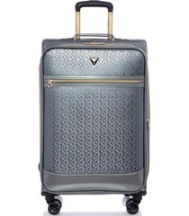 "guess fashion travel rancho 20"" softside carry-on spinner"