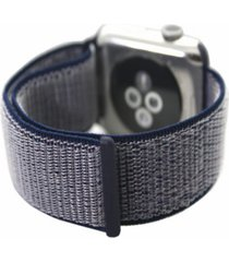 woven nylon sport loop apple watch strap 42mm