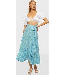 faithfull the brand aubrie skirt maxikjolar