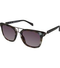 balmain women's 52mm oversized square sunglasses - tortoise