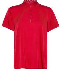 cimina-1 blouses short-sleeved röd hugo