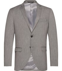 slhslim-mylobill lt grey strc blz b noos blazer colbert grijs selected homme