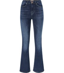 jeans onlpaola hw flared skinny