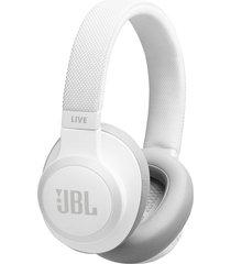 audifonos inalambricos jbl live 650bt con control de voz new - blanco