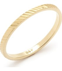 brook & york nell extra thin ring