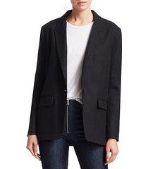 monty oversized single-button blazer