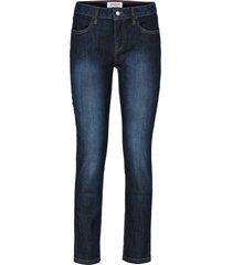 jeans cropped elasticizzati comfort (blu) - john baner jeanswear