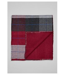 jos. a. bank double faced plaid scarf