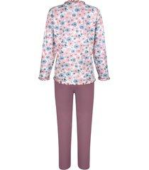 pyjamas comtessa gammalrosa::vit::ljusblå