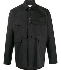 craig green cargo style shirt - black