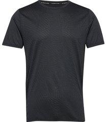 q speed jacquard ss t-shirts short-sleeved svart new balance