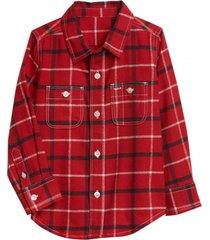 camisa boy rojo gap