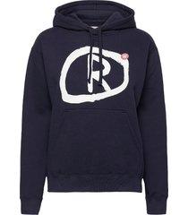 jenn hoodie hoodie trui blauw wood wood