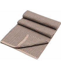 bufanda tejida en diseño espina bicolor para hombre 05223