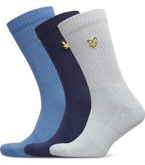 hamilton underwear socks regular socks multi/mönstrad lyle & scott