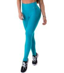 legging let'sgym energetic push up acqua - g azul - azul - feminino - dafiti