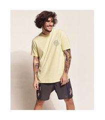 "camiseta masculina birden tal pai tal filho sol radiate positivy"" manga curta gola careca amarelo claro"""