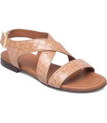 sandals 2901 shoes summer shoes flat sandals beige billi bi