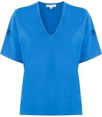 nk eva printed t-shirt - blue