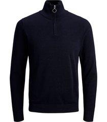 tröja joreli knit high neck zip