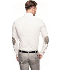 koszula navia 1659 długi rękaw custom fit ecru